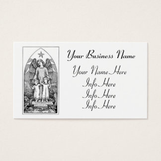 Guardian Angel Protecting Children Business Card