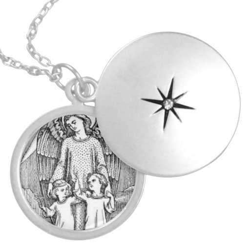 Guardian Angel Protecting Children Necklaces