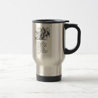 Guardian Angel Quote 15 Oz Stainless Steel Travel Mug