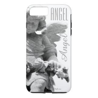 Guardian Angel sculpture retro monogram iPhone 7 Plus Case