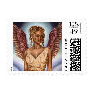 "Guardian Angel | Small, 1.8"" x 1.3"" Postage"