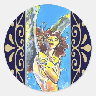 Guardian Angel Stickers