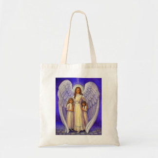 Guardian Angel Tote Bags