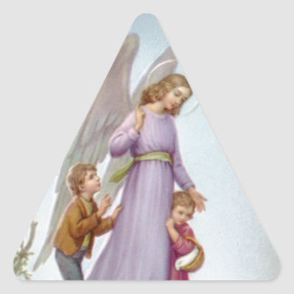 Guardian Angel Triangle Sticker