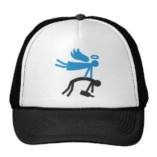 Guardian angel trucker hat