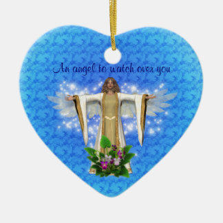 Guardian Angel Watch Over Heart Ornament
