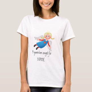 Guardian angel with blond plaits T-Shirt