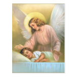 Guardian Angel with Child Post Card