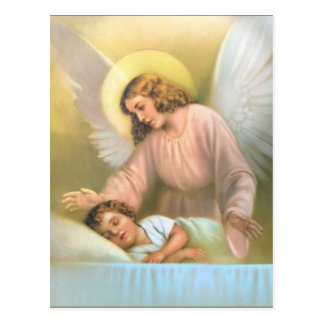 Guardian Angel with Child Postcard