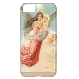 Guardian Angel with Children iPhone 5C Cases
