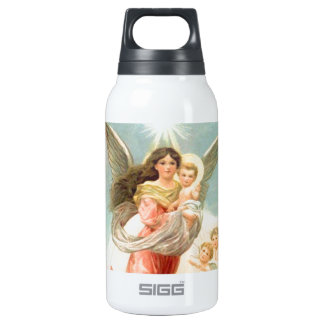 Guardian Angel with Children Insulated Water Bottle