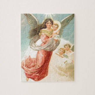 Guardian Angel with Children Puzzle