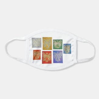 Guardian Angels Art Custom Design Face Mask
