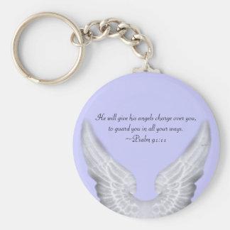 Guardian Angels Keychain