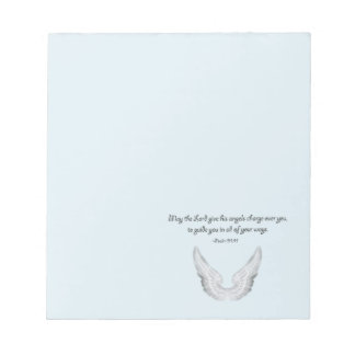 guardian angels notepad