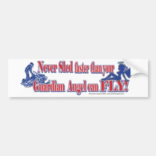 Guardian-Angle-bumper-3 Bumper Sticker