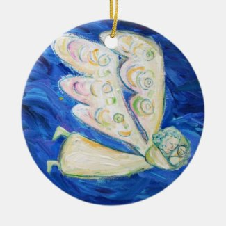 Guardian Baby Angel Art Pendant Ornaments
