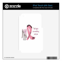Guardian Breast Cancer Angels iPod Touch 4G Skin