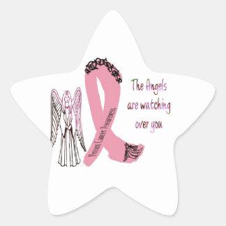 Guardian Breast Cancer Angels Star Sticker