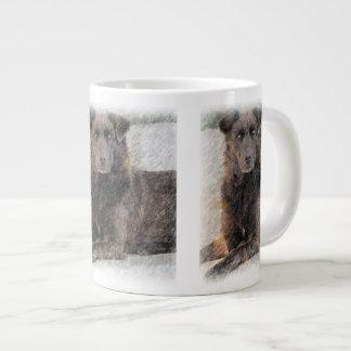 Guardian Dog 20 Oz Large Ceramic Coffee Mug