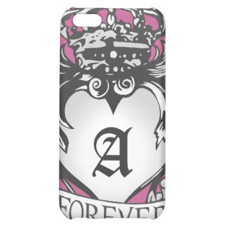 Guardian Heart Silver Monogram iPhone case iPhone 5C Covers