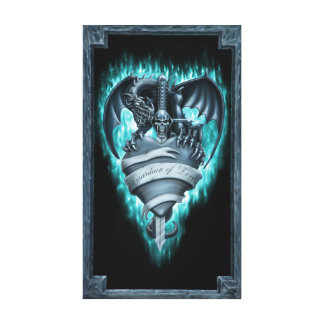 Guardian OF Love Canvas Print