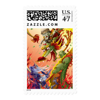 Guardian of the East- Dragon Postage