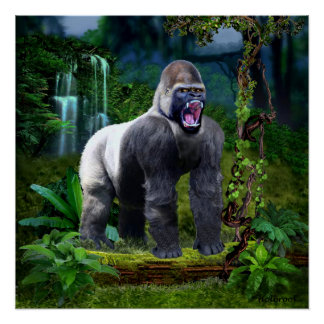 Guardian of the Rain Forest Poster