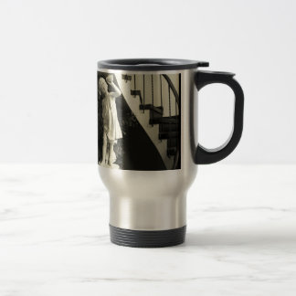 Guardian of the Stairs 15 Oz Stainless Steel Travel Mug