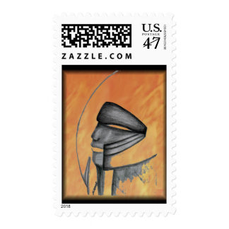 Guardian of the Universe - Jass Postage Stamp