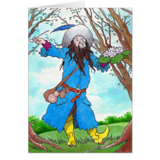 """""""Guardian Of The Wood"""" Greeting Card"""