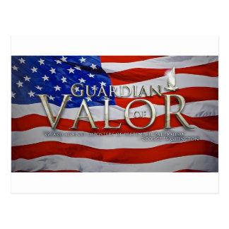 Guardian of Valor Postcard