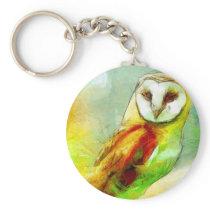 Guardian Owl Keychain
