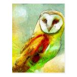 Guardian Owl Postcard