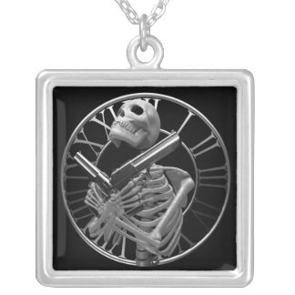 Guardian Square Necklace by Gahr Graphics