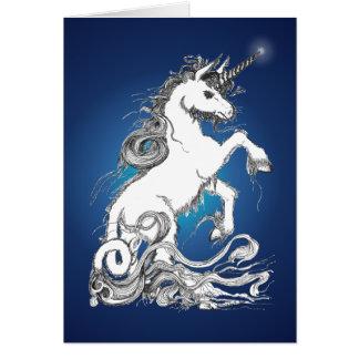 Guardian Unicorn Card