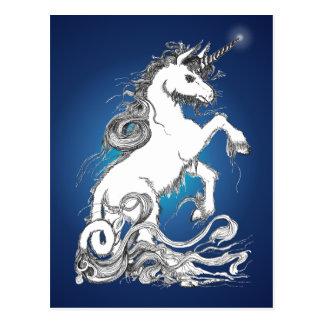 Guardian Unicorn Postcard