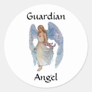 GuardianAngel Round Sticker