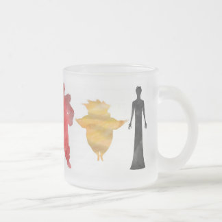 Guardians and Kings Frosted Glass Coffee Mug