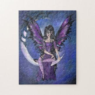 """Guardians"" fairy dragon gothic fantasy PUZZLE"