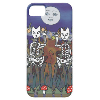Guardians of a Haunted Forest Skeleton Mascots iPhone 5 Cases
