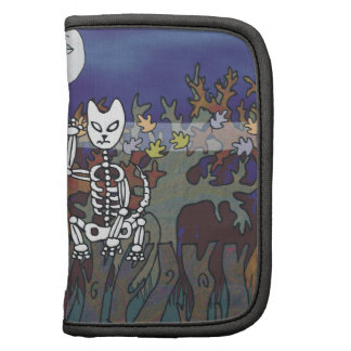 Guardians of a Haunted Forest Skeleton Mascots Folio Planner