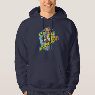 Guardians of the Galaxy   Baby Groot Attitude Hoodie