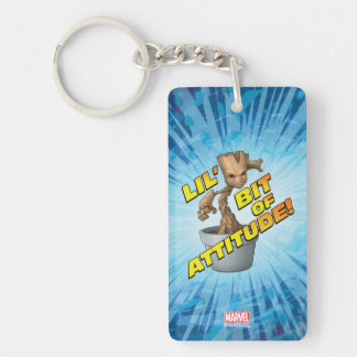 Guardians of the Galaxy | Baby Groot Attitude Keychain