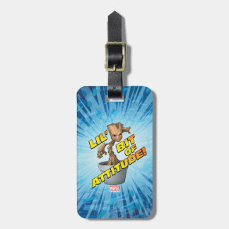 Guardians of the Galaxy | Baby Groot Attitude Luggage Tag