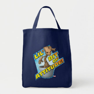 Guardians of the Galaxy | Baby Groot Attitude Tote Bag