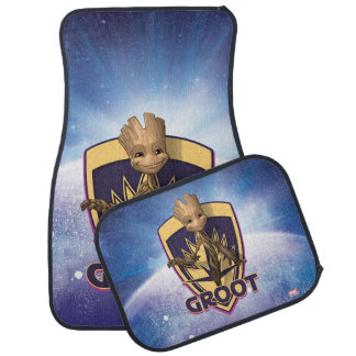 Guardians of the Galaxy | Baby Groot Crest Car Mat