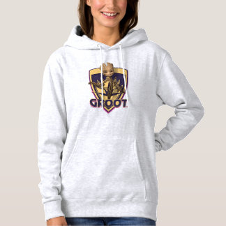 Guardians of the Galaxy   Baby Groot Crest Hoodie