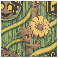 Guardians of the Galaxy   Baby Groot & Daisy Fabric