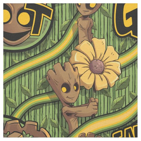 Guardians of the Galaxy | Baby Groot & Daisy Fabric